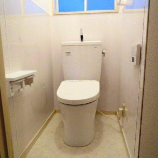 トイレ掃除がラクになる壁
