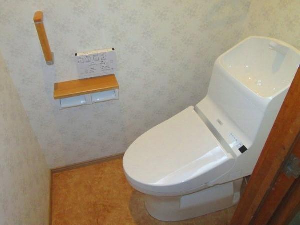 安全なトイレへリフォーム