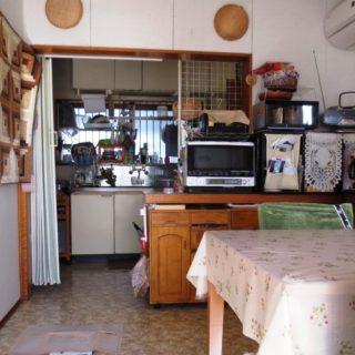 すっきりと片付くキッチンにリフォーム