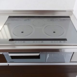 IHクッキングヒーターとガスが併用可能なキッチンリフォーム