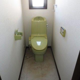 1Fはタンクレストイレ2Fは節水トイレでリフォーム