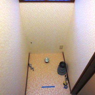 スッキリ片付くトイレ空間にリフォーム