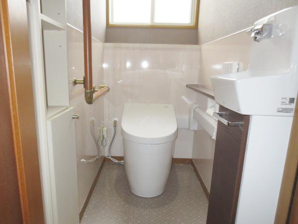 節水性・清掃性・使い勝手を兼ね備えた理想のトイレ