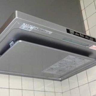 キッチンのガス調理機器と換気扇を取り換えました!