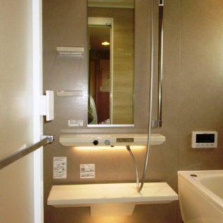 浴槽が豪華な浴室リフォーム