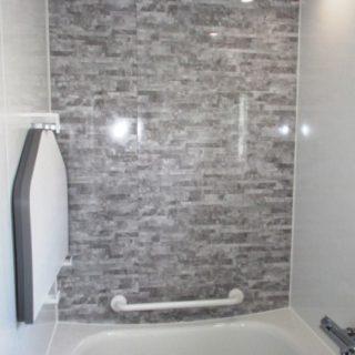 一回り小さい窓にした浴室リフォーム