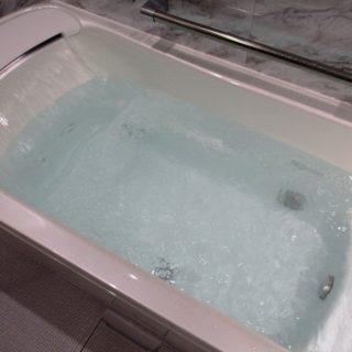 肩湯が楽しめる浴室リフォーム