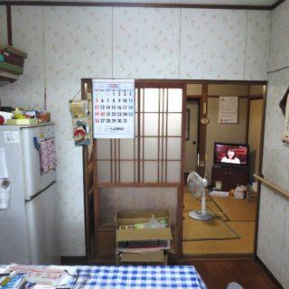 キッチンと和室を一体化したLDKリフォーム