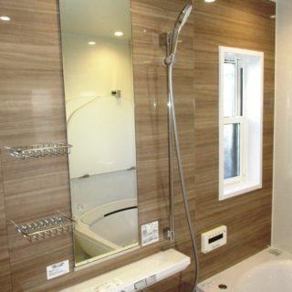 リラックスを追求した浴室リフォーム