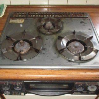 システムキッチンのガスコンロを交換