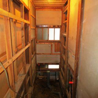 和風住宅のトイレ・廊下リフォーム
